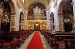 Hungary, Budapest, Central & Eastern Europe, Church interior Stock Photo - Premium Rights-Managed, Artist: AWL Images, Code: 862-06541927