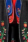 Hungary, Budapest, Central & Eastern Europe, Detail of traditional clothing Stock Photo - Premium Rights-Managed, Artist: AWL Images, Code: 862-06541930