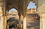 India, Rajasthan, Nagaur. Historic Ahichhatragarh Fort, part of which is used as a luxury hotel called Ranvas, has benefitted from an extensive programme of restoration. Stock Photo - Premium Rights-Managed, Artist: AWL Images, Code: 862-06541969