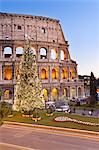 Colosseum, Christmas Tree. Rome, Lazio, Italy, Europe Stock Photo - Premium Rights-Managed, Artist: AWL Images, Code: 862-06542029