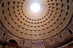 Rome, Lazio, Italy, Detail of cupola interior at the Pantheon. Unesco Stock Photo - Premium Rights-Managed, Artist: AWL Images, Code: 862-06542072