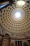 Rome, Lazio, Italy, Detail of cupola interior at the Pantheon. Unesco Stock Photo - Premium Rights-Managed, Artist: AWL Images, Code: 862-06542073