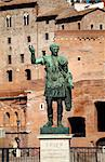 Rome, Lazio, Italy, A statue of Roman general Julius Ceaser Stock Photo - Premium Rights-Managed, Artist: AWL Images, Code: 862-06542088