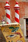 Venice, Veneto, Italy, Restaurant sign Stock Photo - Premium Rights-Managed, Artist: AWL Images, Code: 862-06542098