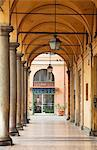 Modena, Emilia Romagna, Italy, Arches and columns, a typical sight of the Emilia Romagna region Stock Photo - Premium Rights-Managed, Artist: AWL Images, Code: 862-06542117
