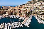 Fontvieille port in Principality of Monaco, Europe Stock Photo - Premium Rights-Managed, Artist: AWL Images, Code: 862-06542370