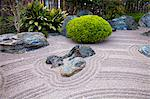 Zen Garden at Japanese Gardens in Larvotto, Principality of Monaco, Europe Stock Photo - Premium Rights-Managed, Artist: AWL Images, Code: 862-06542394