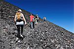 Tourist trekking up Volcan Cerro Negro, Leon, Nicaragua, Central America Stock Photo - Premium Rights-Managed, Artist: AWL Images, Code: 862-06542499