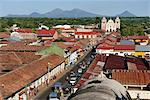 View from Cathedral to Iglesia de la Asuncion, Leon, Nicaragua, Central America Stock Photo - Premium Rights-Managed, Artist: AWL Images, Code: 862-06542511