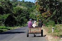 Local men in a horse and cart, Nicaragua, Central America Stock Photo - Premium Rights-Managednull, Code: 862-06542613