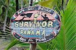 Sign for Survivor Panama at El Limbo Hotel, Bastimentos Island, Panama, Central America Stock Photo - Premium Rights-Managed, Artist: AWL Images, Code: 862-06542663