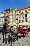Poland, Europe, Poznan, market square, historic old town Stock Photo - Premium Rights-Managed, Artist: AWL Images, Code: 862-06542677