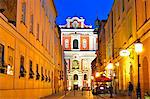 Poland, Europe, Poznan, Parish Church of Stanislaus, historic old town Stock Photo - Premium Rights-Managed, Artist: AWL Images, Code: 862-06542682