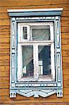 Russia, Plyos. Window on a traditional Russian village house. Stock Photo - Premium Rights-Managed, Artist: AWL Images, Code: 862-06542697