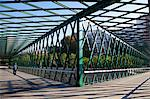 Puente verde en Y bridge in Madrid Rio. Madrid, Spain. Stock Photo - Premium Rights-Managed, Artist: AWL Images, Code: 862-06542738