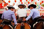 Seville, Andalusia, Spain, Horse riders during the Feria de Abril Stock Photo - Premium Rights-Managed, Artist: AWL Images, Code: 862-06542808