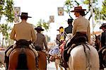 Seville, Andalusia, Spain, Horse riders during the Feria de Abril Stock Photo - Premium Rights-Managed, Artist: AWL Images, Code: 862-06542809