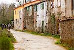 Spain, Galicia, Camino Frances, Houses in a small hamlet on the route of the Camino Stock Photo - Premium Rights-Managed, Artist: AWL Images, Code: 862-06542825