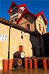 Bodega Lopez de Heria wine cellar in the village of Haro, La Rioja, Spain, Europe Stock Photo - Premium Rights-Managed, Artist: AWL Images, Code: 862-06542898