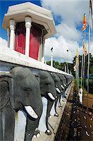pilgrimartworks - Sri Lanka, North Central Province,  Anuradhapura, Ruvanvelisaya Dagoba, elephant statues Stock Photo - Premium Rights-Managednull, Code: 862-06542988