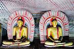 Sri Lanka, North Central Province, Dambulla, Golden Temple, UNESCO World Heritage Site, Royal Rock Temple, Buddha statues in Cave 2 Stock Photo - Premium Rights-Managed, Artist: AWL Images, Code: 862-06543017