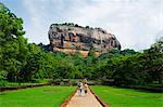 Sri Lanka, North Central Province, Sigiriya,  rock fortress of Sigiriya Stock Photo - Premium Rights-Managed, Artist: AWL Images, Code: 862-06543028
