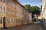 Gothenburg, Sweden. A quiet residential street in Gothenburgs picturesque old town. Stock Photo - Premium Rights-Managed, Artist: AWL Images, Code: 862-06543066