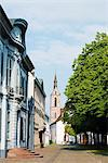 Europe, Switzerland, Basel, A street with traditional houses Stock Photo - Premium Rights-Managed, Artist: AWL Images, Code: 862-06543108