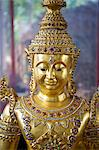 Thailand, Nong Khai Province, figure at Wat Nam Mong. Buddhist figurine at Wat Nam Mong or Wat Sri Chomphu Ong Tue. Stock Photo - Premium Rights-Managed, Artist: AWL Images, Code: 862-06543119