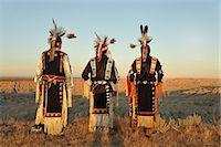 Lakota Indians in the Badlands of South Dakota, USA MR Stock Photo - Premium Rights-Managednull, Code: 862-06543410