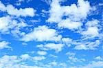 Blue sky with clouds Stock Photo - Premium Royalty-Freenull, Code: 622-06549223