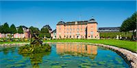Pond on Grounds of Schwetzingen Castle, Baden-Wurttemberg, Germany Stock Photo - Premium Rights-Managednull, Code: 700-06553349