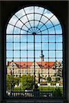 View of Weikersheim Castle Through Window, Weikersheim, Baden-Wurttemberg, Germany Stock Photo - Premium Rights-Managed, Artist: Siephoto, Code: 700-06553367
