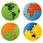 Globe of the World Stock Photo - Royalty-Free, Artist: nezezon                       , Code: 400-06554226