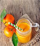 clementine juice Stock Photo - Royalty-Free, Artist: jordache                      , Code: 400-06555636