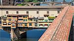Italy, Florence. View of Ponte Vecchio, the main landmark of the city Stock Photo - Royalty-Free, Artist: Perseomedusa                  , Code: 400-06557832