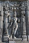 Images of Boddhisattva on wall of Perwara (guardian) temple in Candi Sewu complex (means 1000 temples). It has 253 building structures (8th Century) and it is the second largest Buddhist temple in Java, Indonesia. Stock Photo - Royalty-Free, Artist: Iryna_Rasko                   , Code: 400-06558275