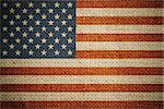 USA flag on grunge canvas background Stock Photo - Royalty-Free, Artist: andrey_kuzmin                 , Code: 400-06558631