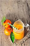 clementine juice Stock Photo - Royalty-Free, Artist: jordache                      , Code: 400-06558757
