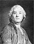 Christoph Willibald Gluck (1714-1787) on engraving from 1859. German opera composer of the early classical period. Engraved by unknown artist and published in Meyers Konversations-Lexikon, Germany,1859. Stock Photo - Royalty-Free, Artist: Georgios                      , Code: 400-06561115