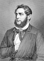 franxyz - Franz Heinrich Zitz (1803-1877) on engraving from 1859. German attorney. Engraved by unknown artist and published in Meyers Konversations-Lexikon, Germany,1859. Stock Photo - Royalty-Freenull, Code: 400-06565264