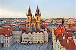 Prague. Old Town Square Stock Photo - Royalty-Free, Artist: TatyanaSavvateeva             , Code: 400-06567929