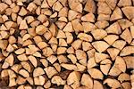 Large number of broken firewood stacked in a pile Stock Photo - Royalty-Free, Artist: qiiip                         , Code: 400-06568777