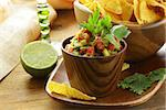 guakomole and corn chips - avocado and tomato dip Stock Photo - Royalty-Free, Artist: Dream79                       , Code: 400-06570349