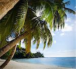 Mahe island, Seychelles. Anse Soleil, lazare bay (Beach). The island of dreams for a rest and relaxation. White coral beach sand. A heavenly place. Stock Photo - Royalty-Free, Artist: Logray                        , Code: 400-06570661