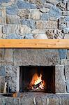 Fireplace Stock Photo - Premium Royalty-Free, Artist: Blend Images, Code: 6114-06589490