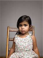 Girl looking uncertain Stock Photo - Premium Royalty-Freenull, Code: 6114-06589514