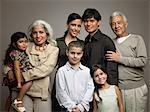 Family portrait Stock Photo - Premium Royalty-Freenull, Code: 6114-06589521