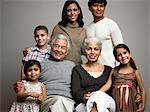 Family portrait Stock Photo - Premium Royalty-Free, Artist: Blend Images, Code: 6114-06589538