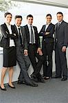 Portrait of businesspeople Stock Photo - Premium Royalty-Free, Artist: F. Lukasseck, Code: 6114-06589570